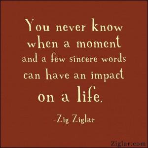 A moment matters